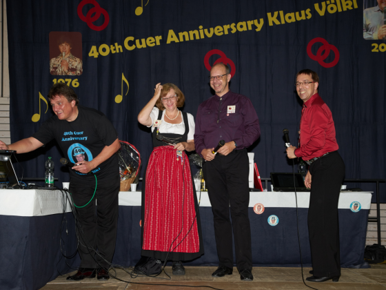 Cuerjubiläum Klaus 2016